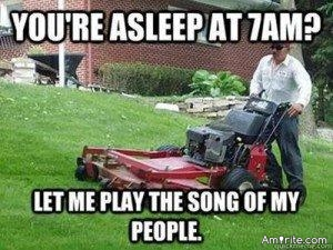 Obsessive lawn mowing is a disease. It affects everyone around you. Please get help. <strong>Amirite?</strong>