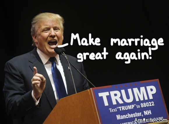 If Donald Trump were to do a flip-flop and approve of Gay Marriage, would this change cause him to gain more voters or be detrimental and cause him to lose many voters?