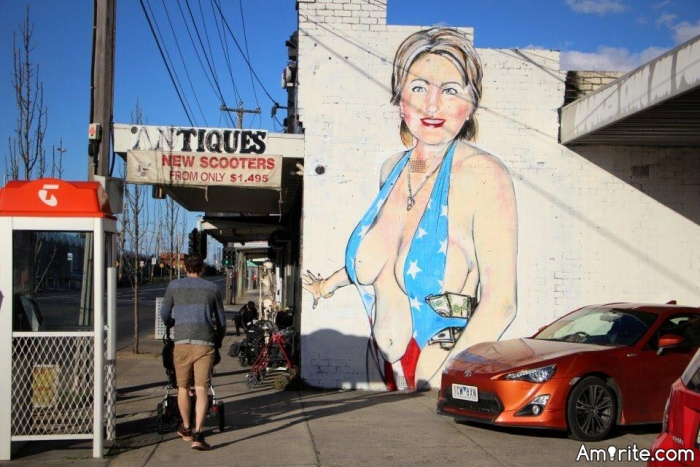 Do you admire graffiti art?