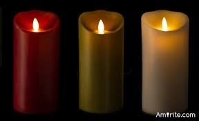 Do you have flameless candles in your home?