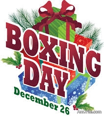 Would you like to see the United States observe Boxing Day like our Canadian neighbors do?