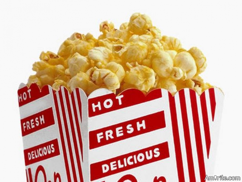 All movie theater lobbies smell the same.
