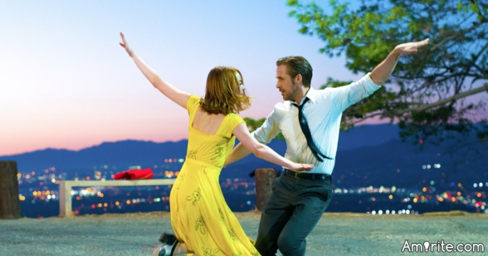 """There is a movie opening in December called """"La La Land"""" starring Ryan Gosling and Emma Stone.  The reviews are coming in already and some are comparing it to another """"Grease"""" with its dynamic feel-good music renditions. The movie is set in Los Angeles. So, do you think you will want to go and see this movie?"""