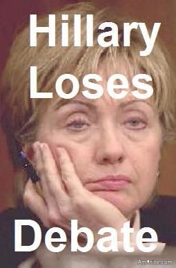 Have you noticed that the hygiene challenged liberal, progressive, democrats are trying convince people that Hillary won the debate Monday night when Trump was clearly the winner?