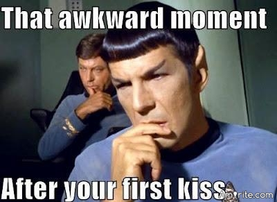 More memorable - your first kiss or your most recent?