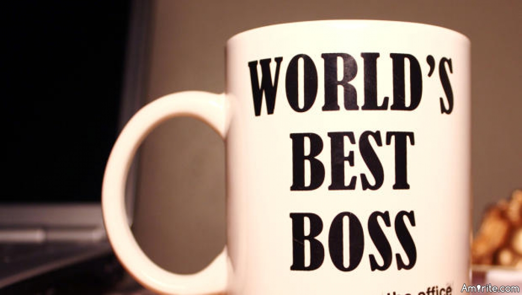 Are you in charge at work? Do you like being the boss?
