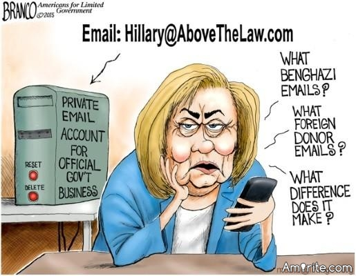 I'm Puzzled.  Do Democrats Not Believe The Hillary Server and The Destruction Of Emails Story?  Or, Do They Not Care?