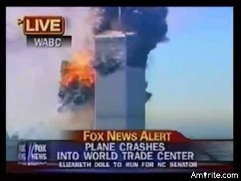 In the minutes right before the second plane attack, on the South Tower, did you already know it was a terrorist attack?