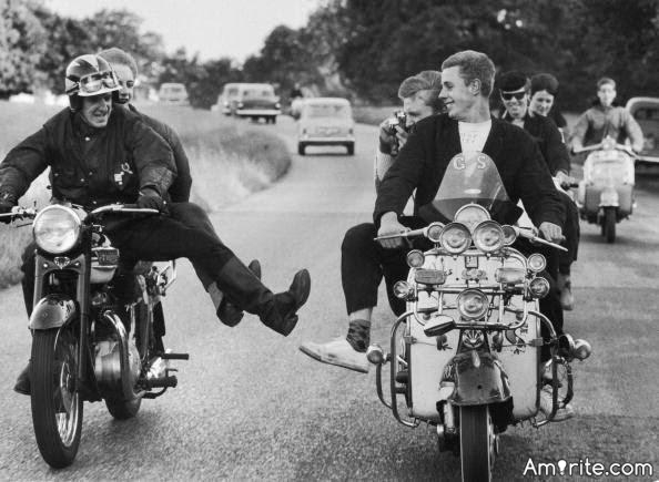 There are no modern-day equivalents to the Mods and Rockers of 1960s London. <strong>Amirite?</strong>