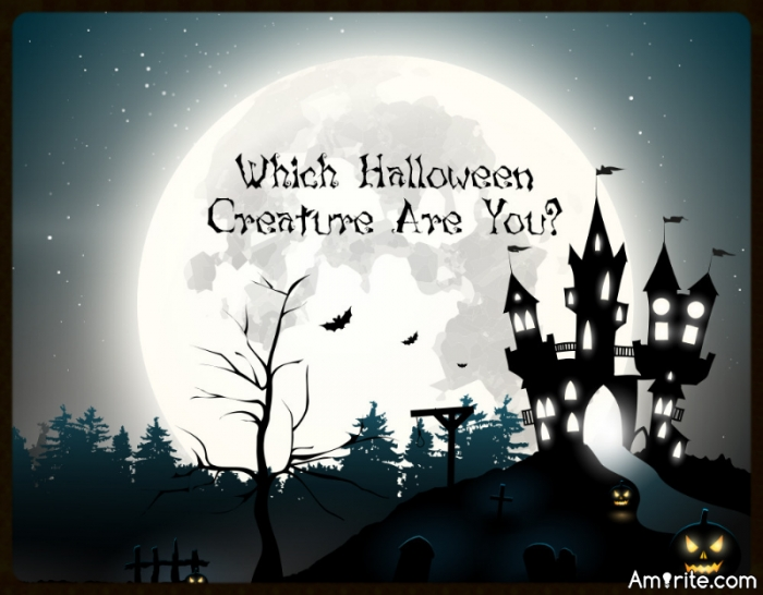 Quiz.....Which Halloween Creature Are You?