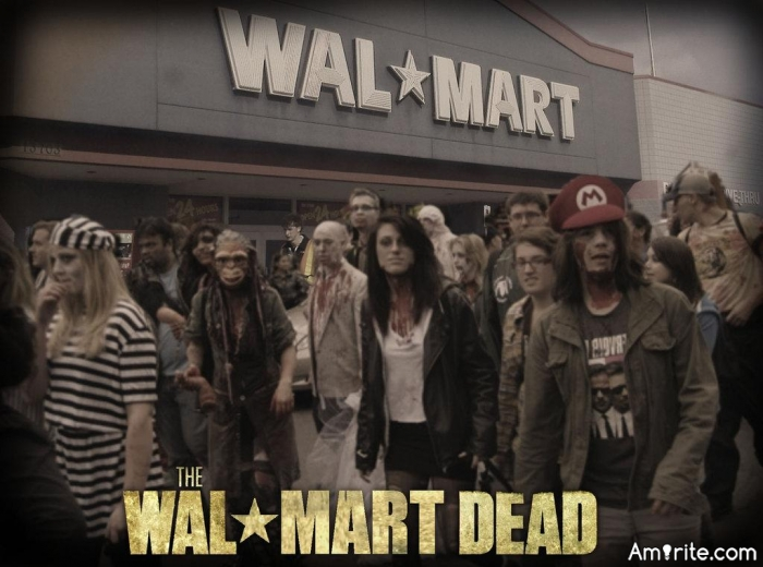 I don't believe people die they just go to Walmart and never come back. <strong>Amirite?</strong>