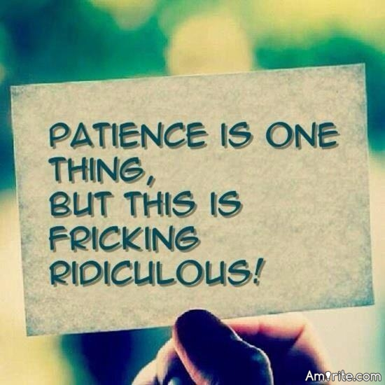 Even the best people reach a limit of understanding & patience. Amirite ?