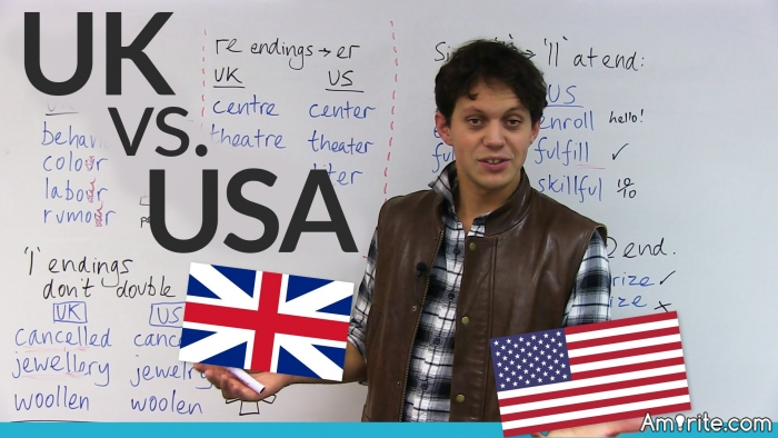 Differences Between British and American English - Ready for a Chuckle?  <b>*</b><b>*</b><b>*</b>  <b>**. To us a quadraped of the horse family or a stupid person. The word you guys are looking for in English english is '</b><b>'.  </b><b>*</b><b>**  Buns. You know what these are. You're probably sitting on them now. Over here buns are either bread or cake rolls....[Show All] Asking for a couple of sticky buns in a bakery here will mean Mr Crusty the baker will give you two cake buns with icing (frosting) on the top. If I went into a deli in Manhattan and asked for a couple of sticky buns I'd probably get arrested...  </b><b>*</b><b>**  Fag. A goody but an oldie. Over here a 'fag' is a cigarette. So in the song 'It's a long way to Tipperary' the line 'As long as you have a Lucifer to light your fag' is not a fundamentalist Christian's statement that all homosexuals will burn for eternity in hell, but saying that 'if you always have a match to light your cigarette...'  </b><b>*</b><b>**  </b><b>. Meat balls made from offal (chopped liver) in gravy. Also a small bundle of logs suitable to burn on a fire.  </b><b>*</b><b>**  Fancy. To be sexually attracted to or to desire. Also a tea cake.  </b><b>*</b><b>**  </b><b>. To us the front bottom; to you the back one. In Britain, the </b><b> pack is known as a </b><b> bag for obvious reasons...  </b><b>*</b><b>**  Football. A classic example of our culture gap. To us football is what you call soccer. To you football is what we call pointless. You probably think the same way about cricket...  </b><b>*</b><b>**  Muffler. To us what you call a muffler is called a silencer. In the UK a muffler is a long scarf a la Dickensian Novels. A muffler was also a derogatory name for a certain part of the female anatomy at my school, though this was probably unique to us. Try explaining THAT to a upstanding American when you are standing at the petrol (gas) station in fits of laughter...  </b><b>*</b><b>**  Pants. You call pants what we call trousers; pants are the things that go underneath.  </b><b>*</b><b>**  Pavement. Sidewalk to you. I couldn't think of anything smutty to go with this.  </b><b>*</b><b>**  Pissed. To you it's quite legal to be pissed in a car in a traffic jam. In fact, in large cities sometimes you cannot help it. For us, it means that you have been over doing it 'down the boozer' (pub) and a kindly policeman will shortly flag you down and arrest you.  </b><b>*</b><b>**  Rubber. In this country a pencil eraser. Don't be shocked if the mild mannered new Englishman in your office asks for a pencil with a rubber on the end. Especially when he says that he enjoys chewing it when he is thinking.  </b><b>*</b><b>**  Shag. To you a dance. To us sexual congress. In otherwords you may have to summon up the courage to have a shag with someone, before you might have a shag with them later on. Also a sea bird similar to a cormorant and a type of rough tobacco.  </b><b>*</b><b>**  Shit. To us, bodily waste. To you, practically everything as far as I could figure, good or bad (and you certainly don't want us to touch yours...)  </b><b>*</b><b>**  Sneakers. We call these 'trainers' for some reason.  </b><b>*</b><b>**  Waistcoat. You call them vests.  </b><b>*</b><b>*</b>* [Show Less]
