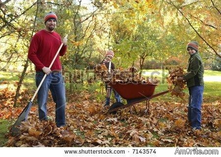 The leaves will soon be falling, do you rake your leaves or do you hire it done?
