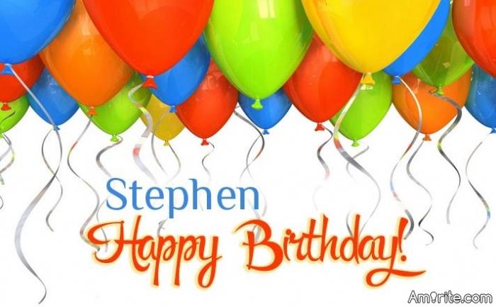 Happy Birthday StephenB