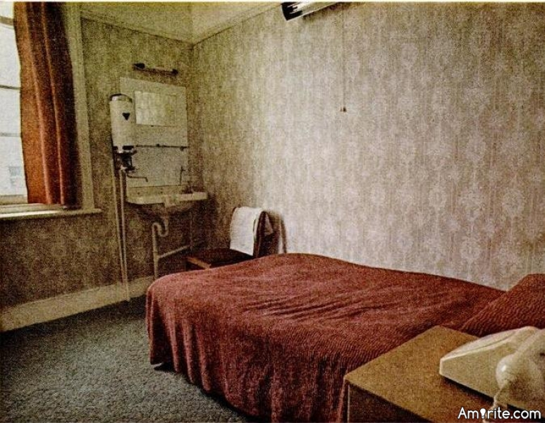 Have you ever checked into a hotel room only to find it wasn't satisfactory and checked right back out?