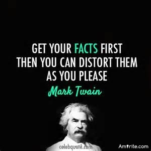 One person's lies can be another person's facts. <strong>Amirite?</strong>