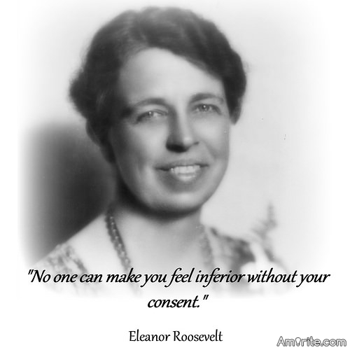 Great minds discuss ideas;  Average minds discuss events;   Small minds discuss people;  Eleanor  Roosevelt