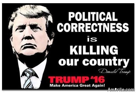 Political Correctness Is Killing Our Country. <strong>Amirite?</strong>