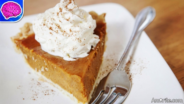 So, what do you guys put on your pumpkin pie?