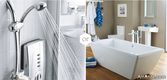 Which do you enjoy more: showers or baths?