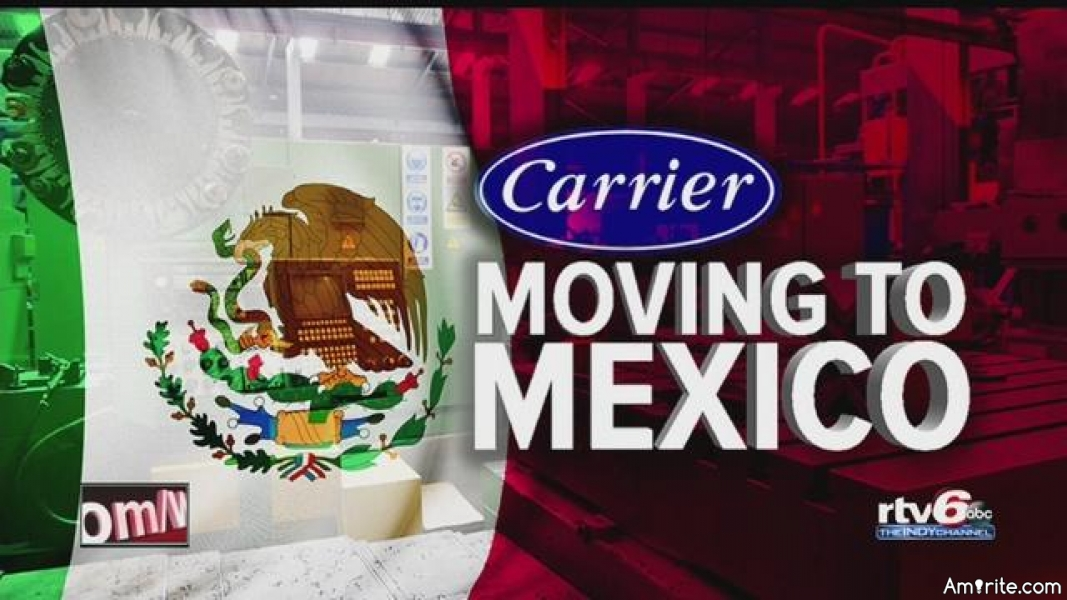 Trump!   Carrier still plans to send most of its jobs to Mexico.   About 730 jobs were saved but the rest will be losing their jobs.