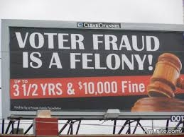 Voter fraud happens, but on a scale that is utterly inconsequential.  Massive voter fraud is a myth.