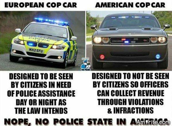 🚔 American cops versus European cops! 🚔