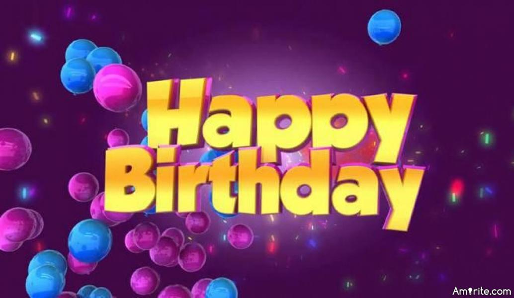 Happy Birthday HegeMarie!!