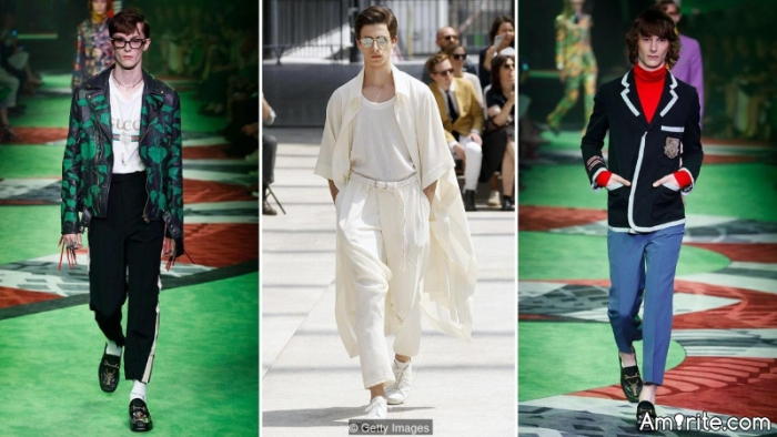 So this is what the fashion world thinks men should be wearing in 2017?