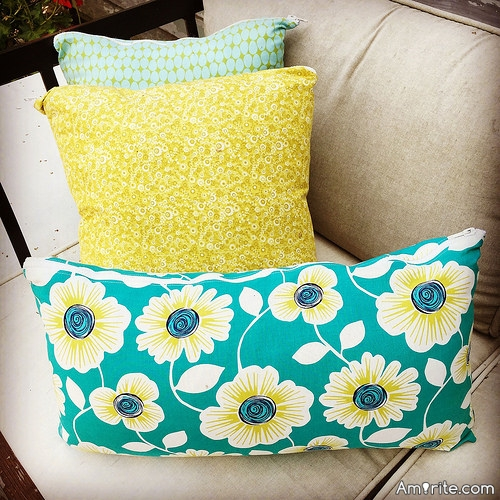 <b>Pillows: once really functional...have become more of a fashion statement.</b> <em>Pillows provide &#34;!Pops! of Colour&#34; in your living room.</em>