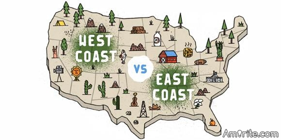 🌈  West Coast versus East Coast: Do you think people are really that different? 🌈