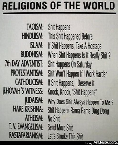 Religion made simple.