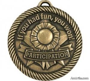 Obama Presents A Participation Award To Joe Biden