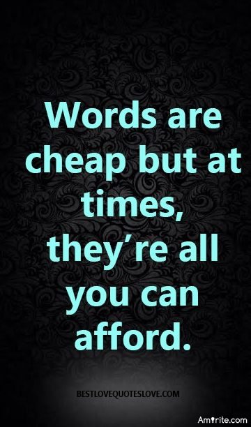 <b>If &#34;Words Are Cheap&#34;...what does this say about online communities?</b>