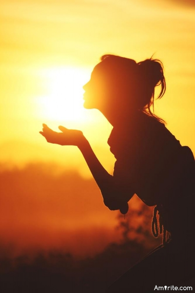 Does the sunshine make you a happier person...
