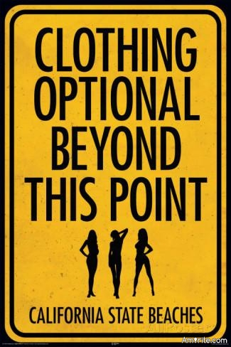 """🎉 Have you ever been invited to a """"clothing optional"""" event? 🎉"""