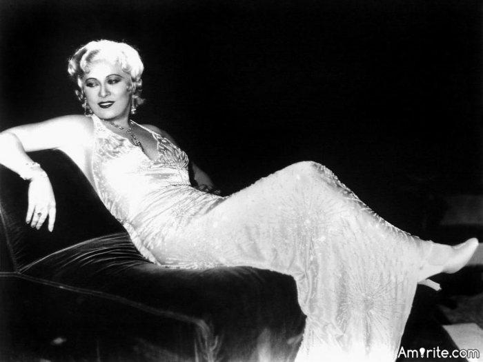 When I'm good I'm very, very good and when I'm bad I'm even better. Mae West.