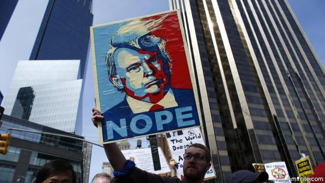Defensive Trumpeteers will not admit their nasty president is not supported by most logical people.  He did not have a big turn-out for his inauguration.  Most people don't want him to throw away Obamacare without a plan.  The huge protests from yesterday were not violent.  Get over it!!!  Most liberals simply don't fit your mold and y'all are sounding a bit desperate and uneducated.