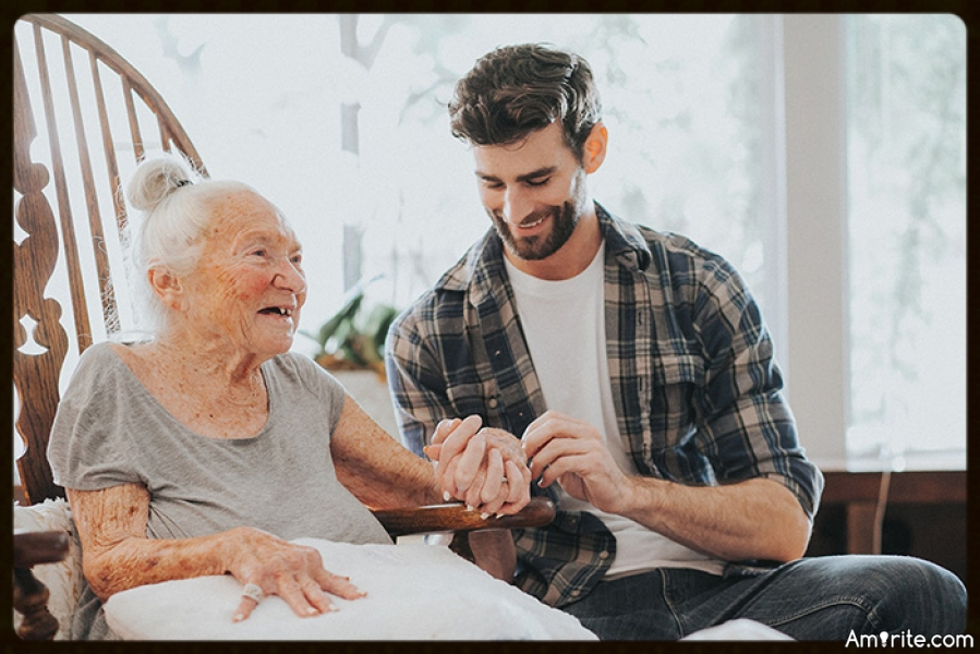 31 Year Old Asks 89 Year Old Neighbor To Move In To Help Care For Her. He's Like The Grandson I Never Had.