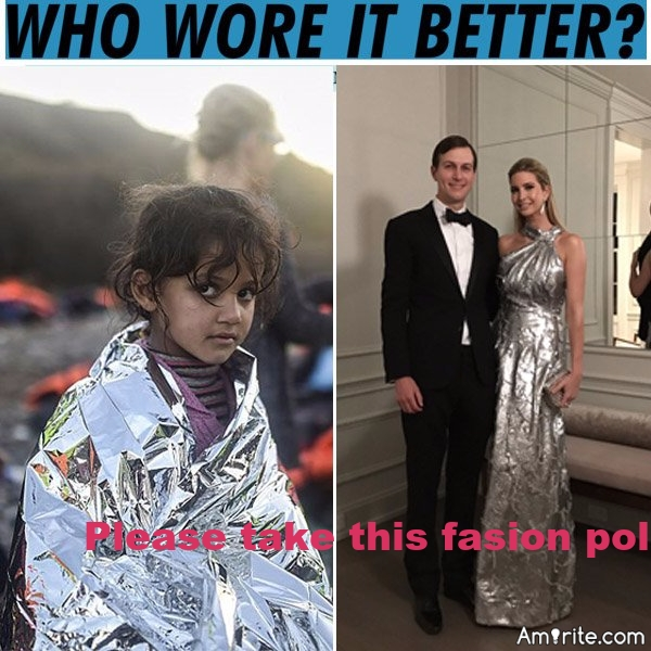 Please take this fashion poll: who wore it better?