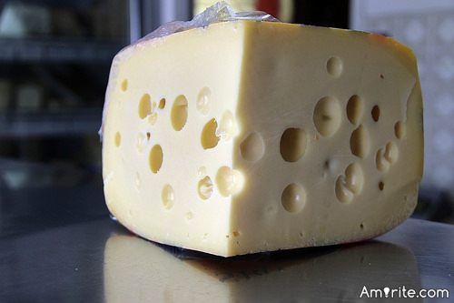 <b>A really delectable cheese can taste better than chocolate...</b> <em>Amirite?</em>