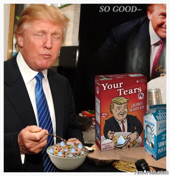 """Have you tried the new cereal """"Your Tears"""", if so, did you like it?"""