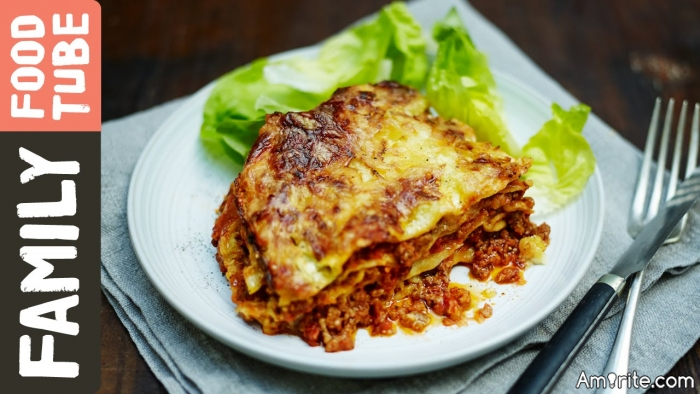 When you are really hungry it is difficult letting the Lasagna sit long enough after cooking so that you don't burn the hell out of your mouth.