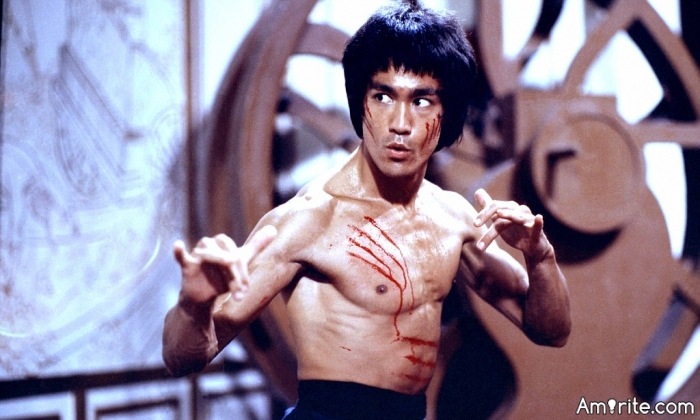 <b>If there's a Bruce Lee movie on in the afternoon, <em>you stay home and watch it.</em></b>