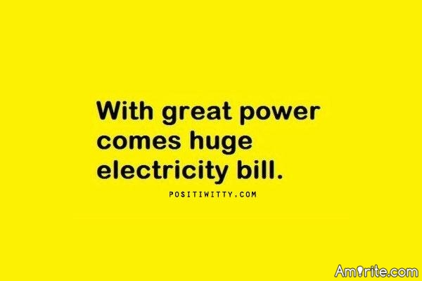 🗯 Are your electricity bills out of control? 🗯