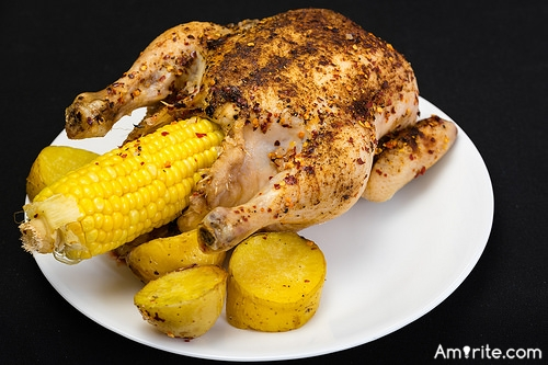 <b>Chicken: how do <em>you</em> cook it? This is my latest fave question for taxi drivers; I've gotten several interesting recipes...one for Tandoori chicken - (but you need the oven) -</b> <em>What do you do with your chicken?</em>