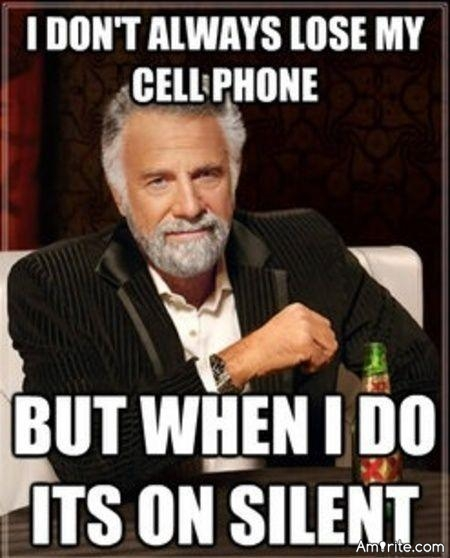 No cell phones ever disappears unless it is on silent mode