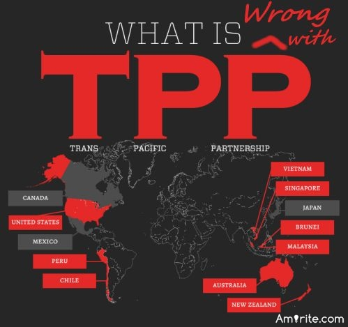 Let's give credit where credit is due.  The Trump Administration has withdrawn the U.S. from the Trans-Pacific Partnership (TPP).  This was an important and positive action taken by the new administration.