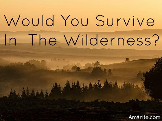 "You have just been selected to stay in the wilderness for a week...How long could your survive before you said ""Enough is enough, I am done""? Or could you make it the whole week?"